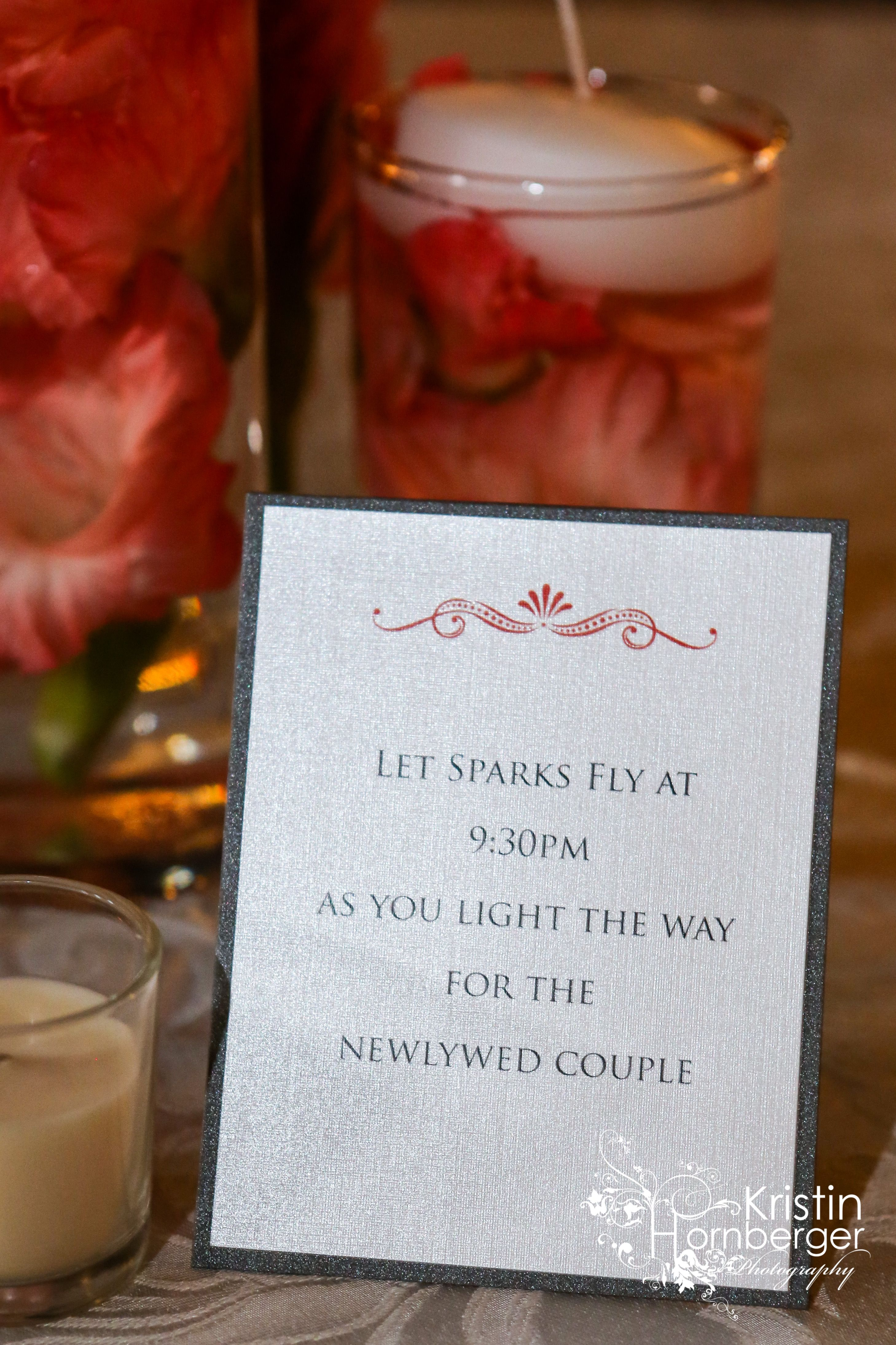 Lauren evan ud married super cute idea with the wedding note to