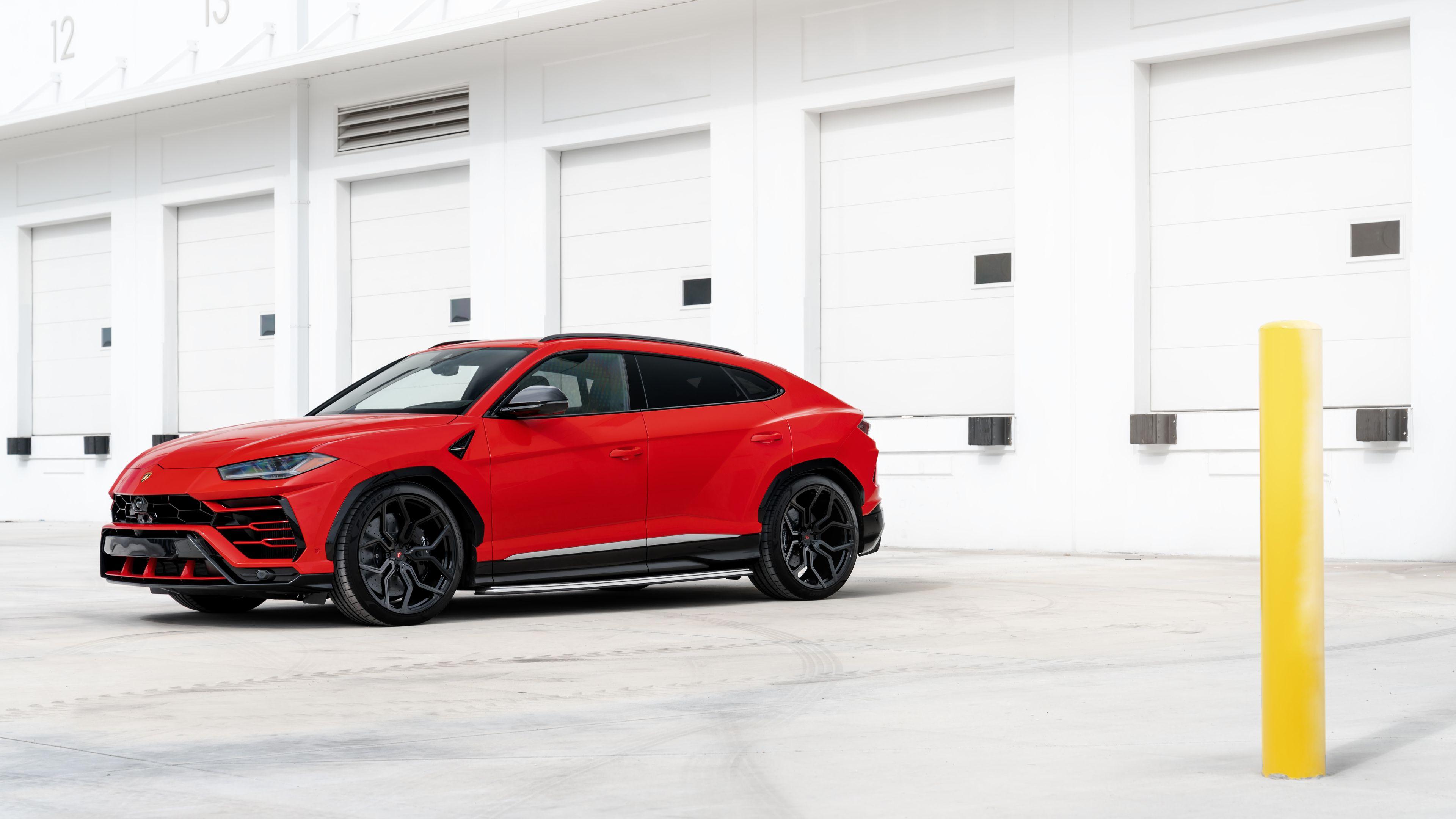 Wallpaper 4k Red Lamborghini Urus 2019 4k 2019 Cars Wallpapers 4k