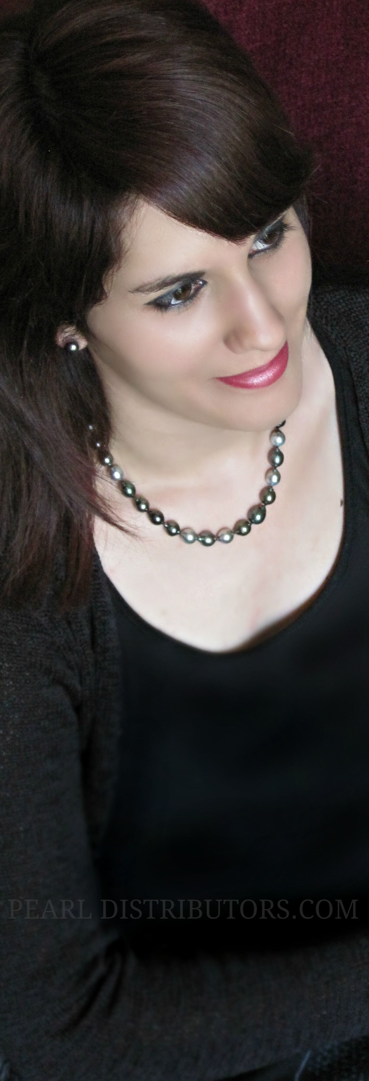 #Baroque #Tahitian #pearl #necklace http://www.pearldistributors.com/black-tahitian_pearl-necklaces/