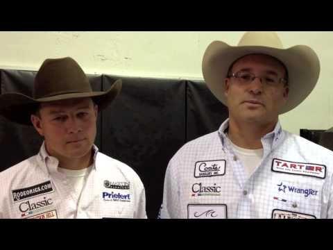 NFR12 Round 2 Winners | Luke Brown and Martin Lucero