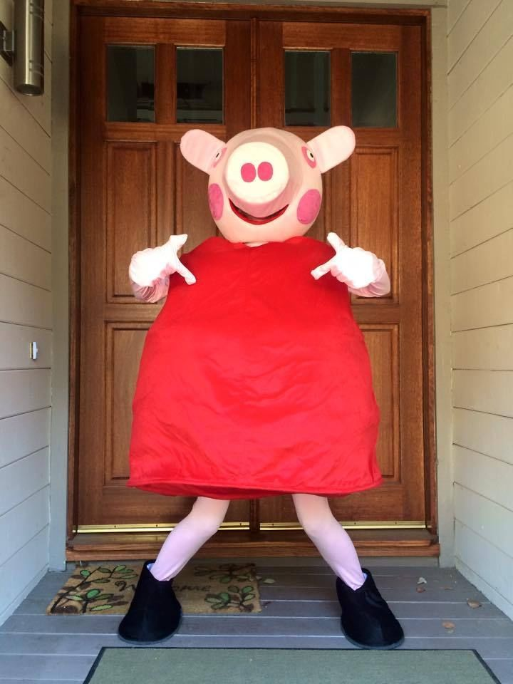 Details About Peppa Pig Mummy Pig Adult Costume Cool Costumes