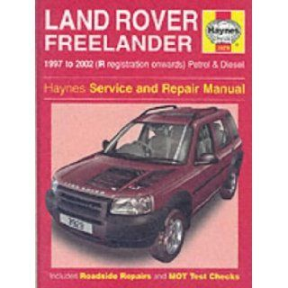 Land Rover Freelander Service And Repair Manual Haynes Service And Repair Manuals Martynn Randall R M Jex 9781859609293 Books Land Rover Todo Terreno