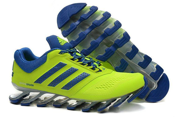 2fab7cf80e4 Adidas Springblade Drive 2 Shoes Lime Blue