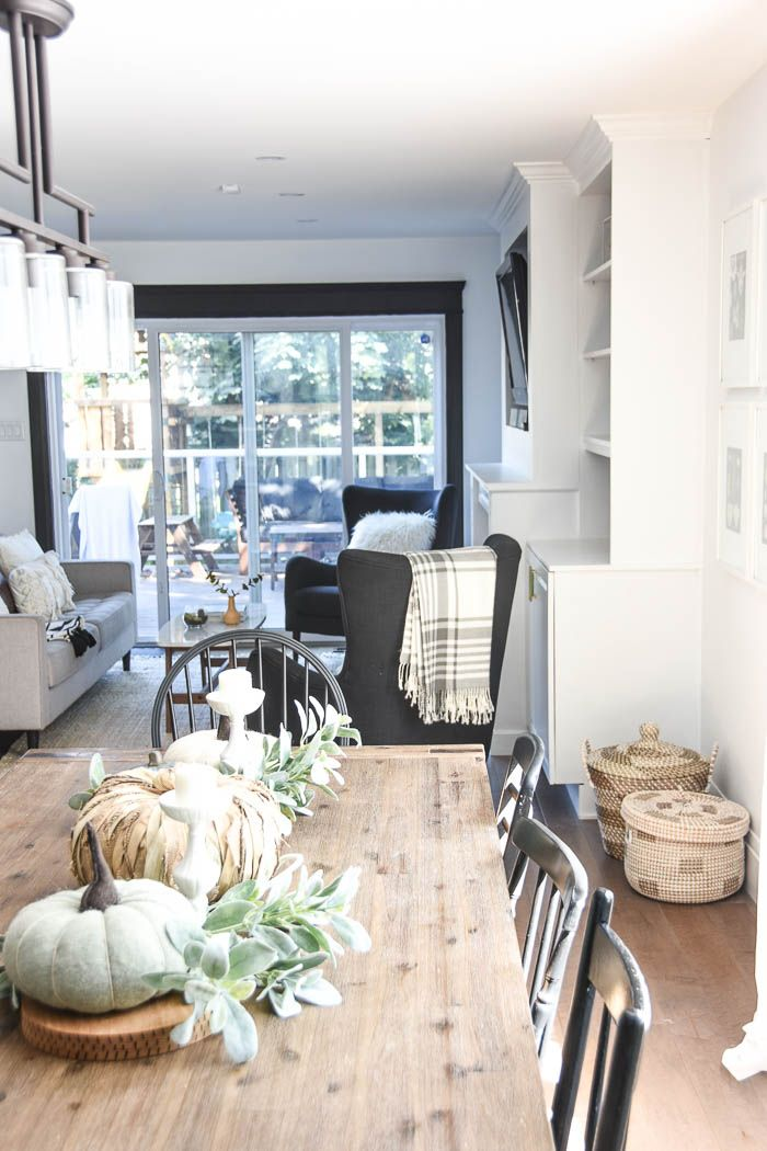 Get the Look: Modern Fall Decorating Ideas | Modern farmhouse ...