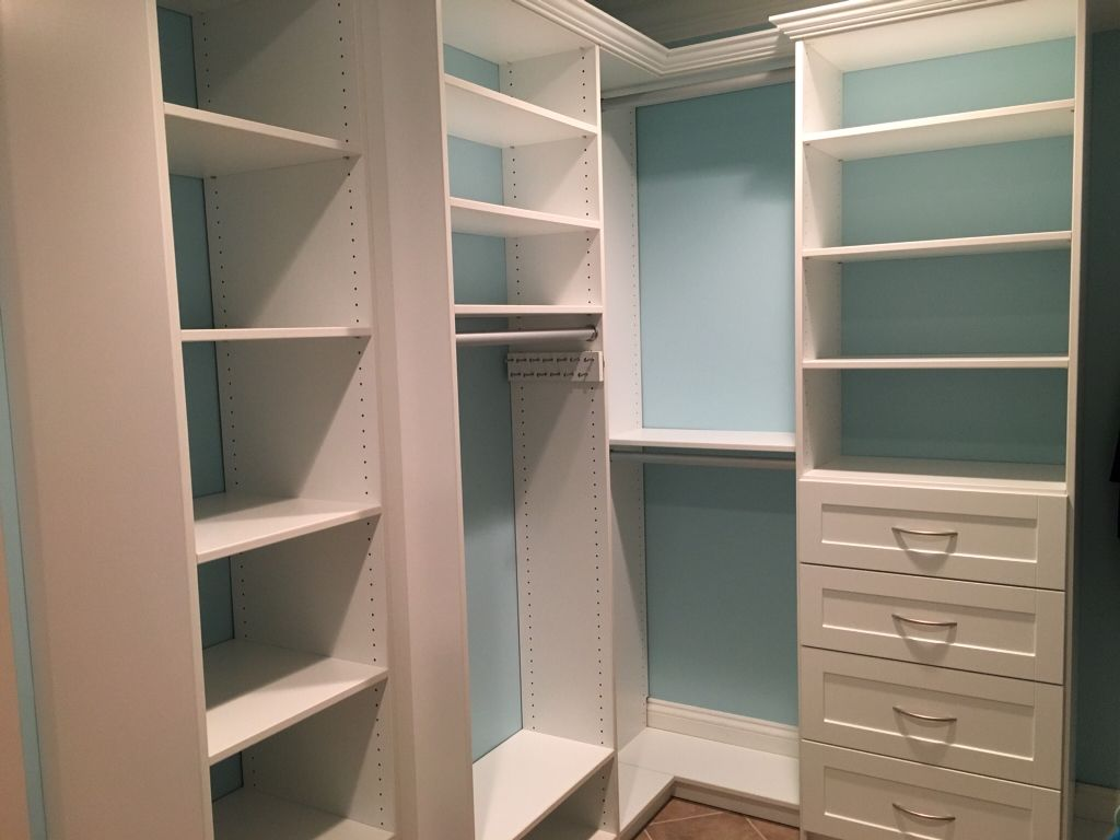 Cape Cod Closet Ideas Part - 19: Walk-in Closet With Coastal Feel On Cape Cod! ClosetsbyDesign - Boston  Carolyn Scarinci