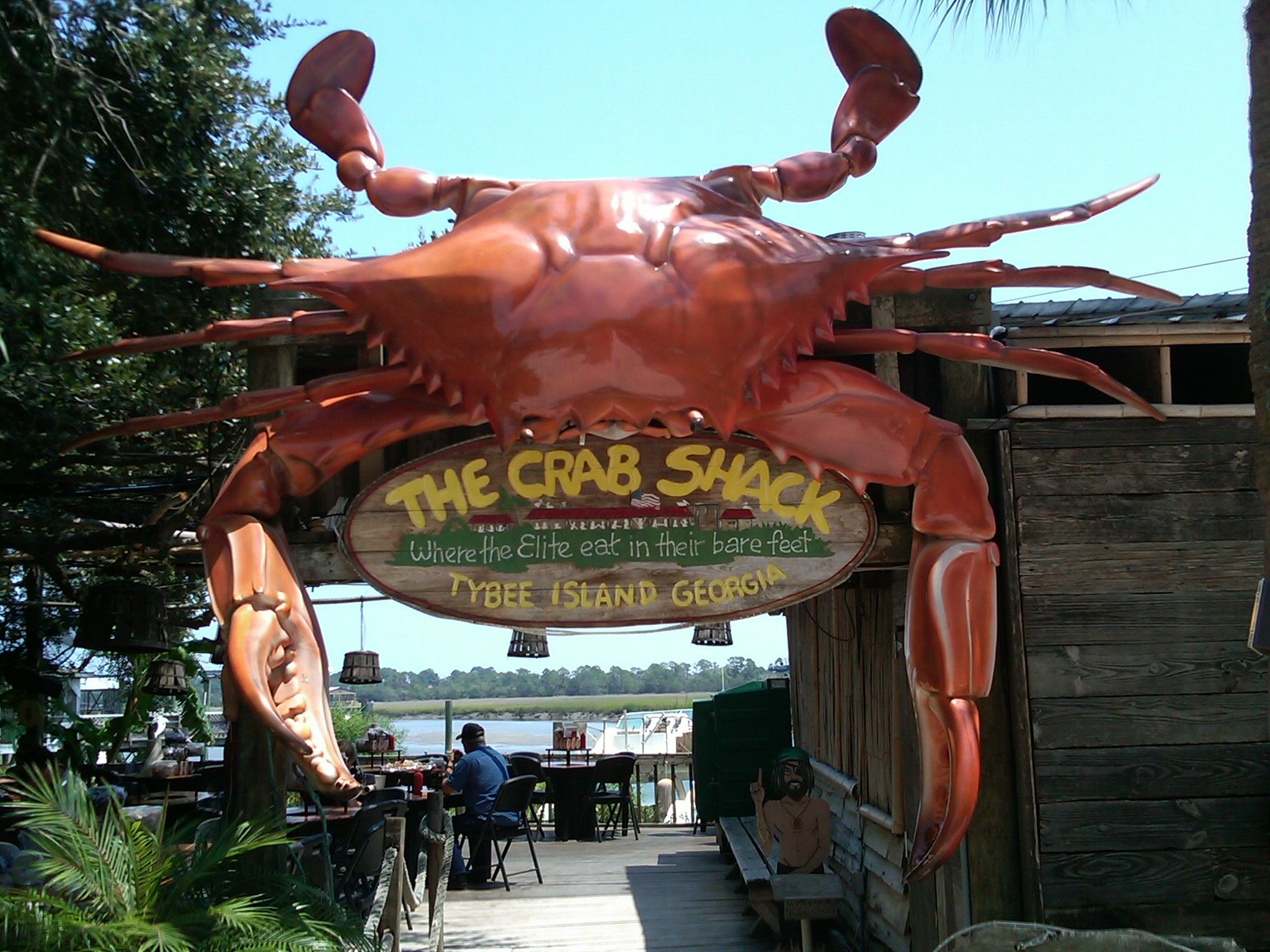 Tybee Island Ga Gear In Tow Are We Lost Yet The Crab Shack