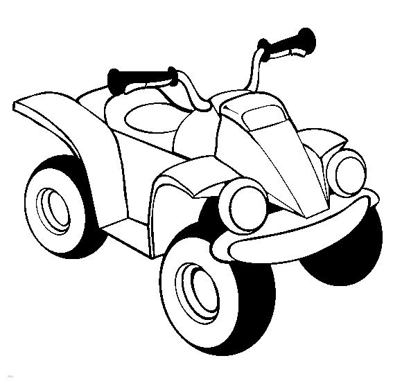 ATV Atv Online Kids Coloring Pages Printable Vehicles