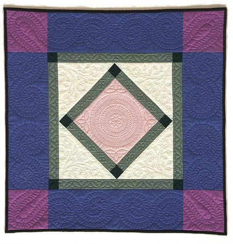 Hand Quilted Amish Style Quilt By Andi Perejda Quilting
