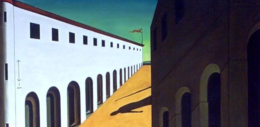 Mystery and Melancholy of a Street by Giorgio de Chirico ...