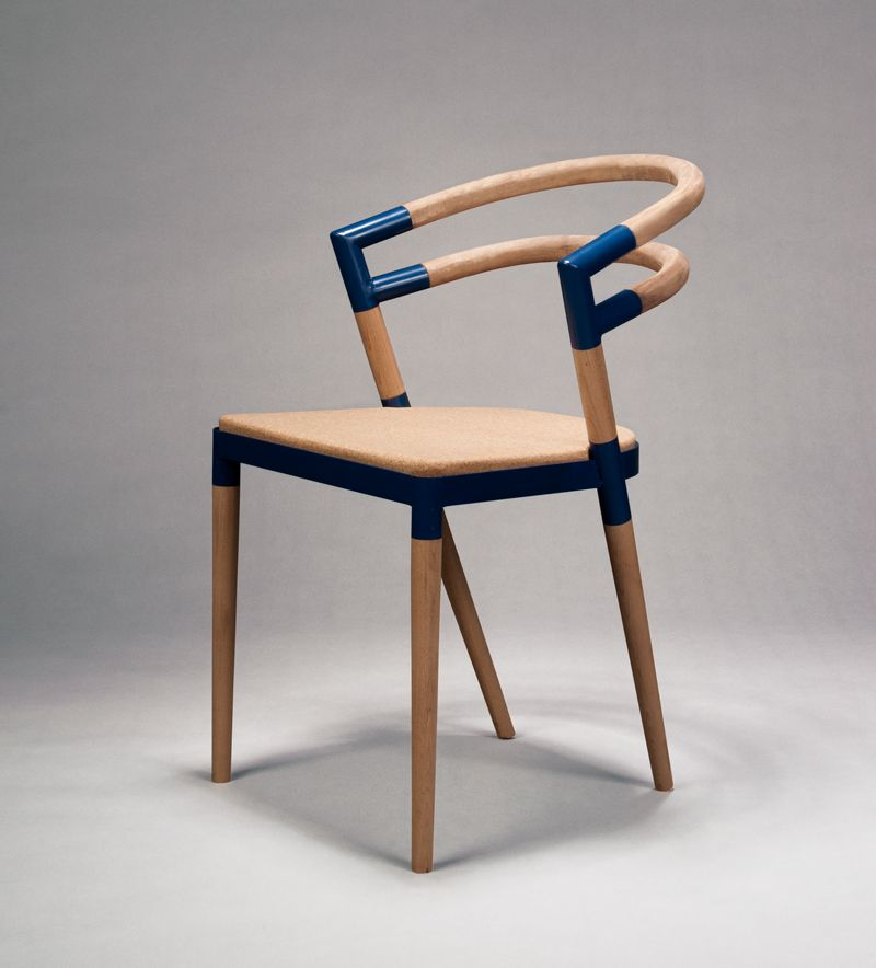 Attractive An Assembled Chair By Eva Fly