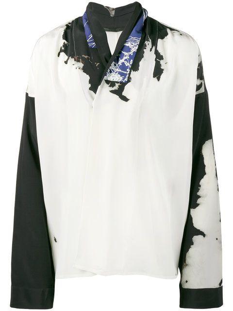 a6aa44ed63 HAIDER ACKERMANN bleach print kimono shirt. #haiderackermann #cloth #shirt