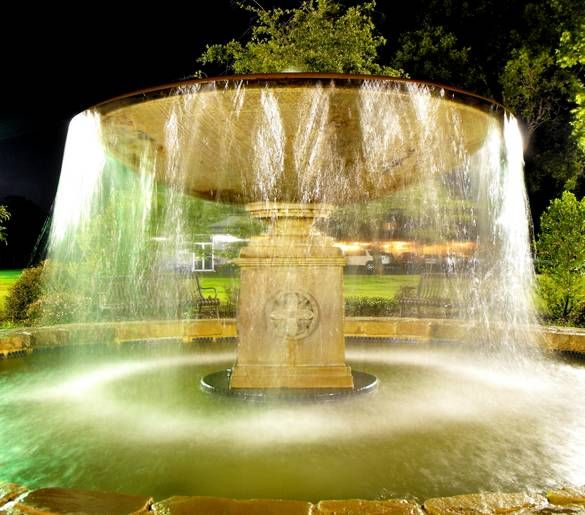 Central Park Fountain Mckinney Tx Incredible Places Mckinney Fountains
