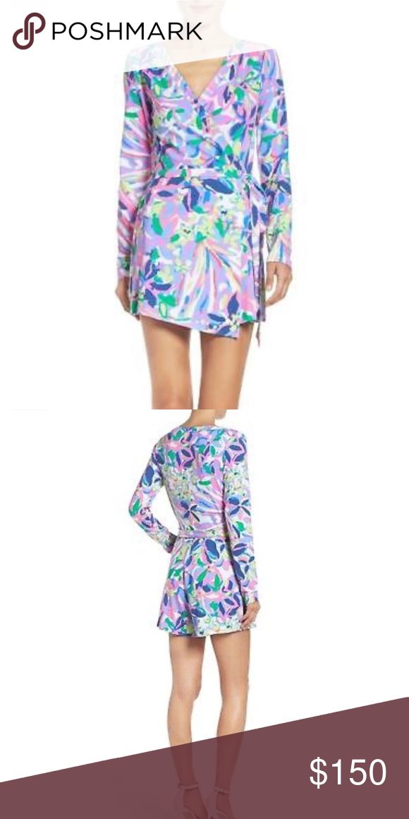 b8629358c93 NWT!! Lilly Pulitzer Tiki Wrap Romper New with tags!! Lilly Pulitzer ...