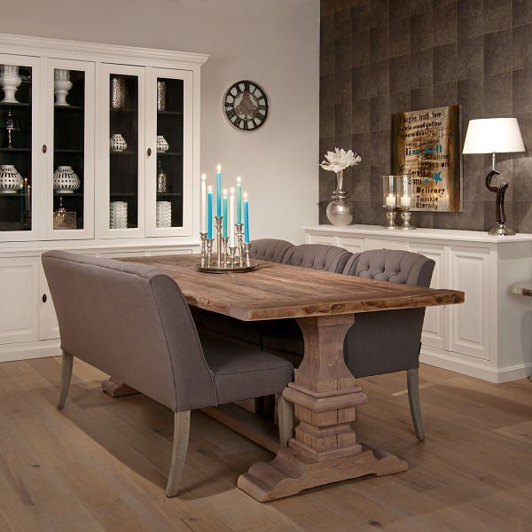 Lifestyle Hoxton Oak Farmhouse Dining Table
