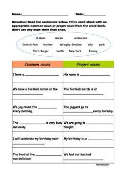 Pin on Teaching Nouns