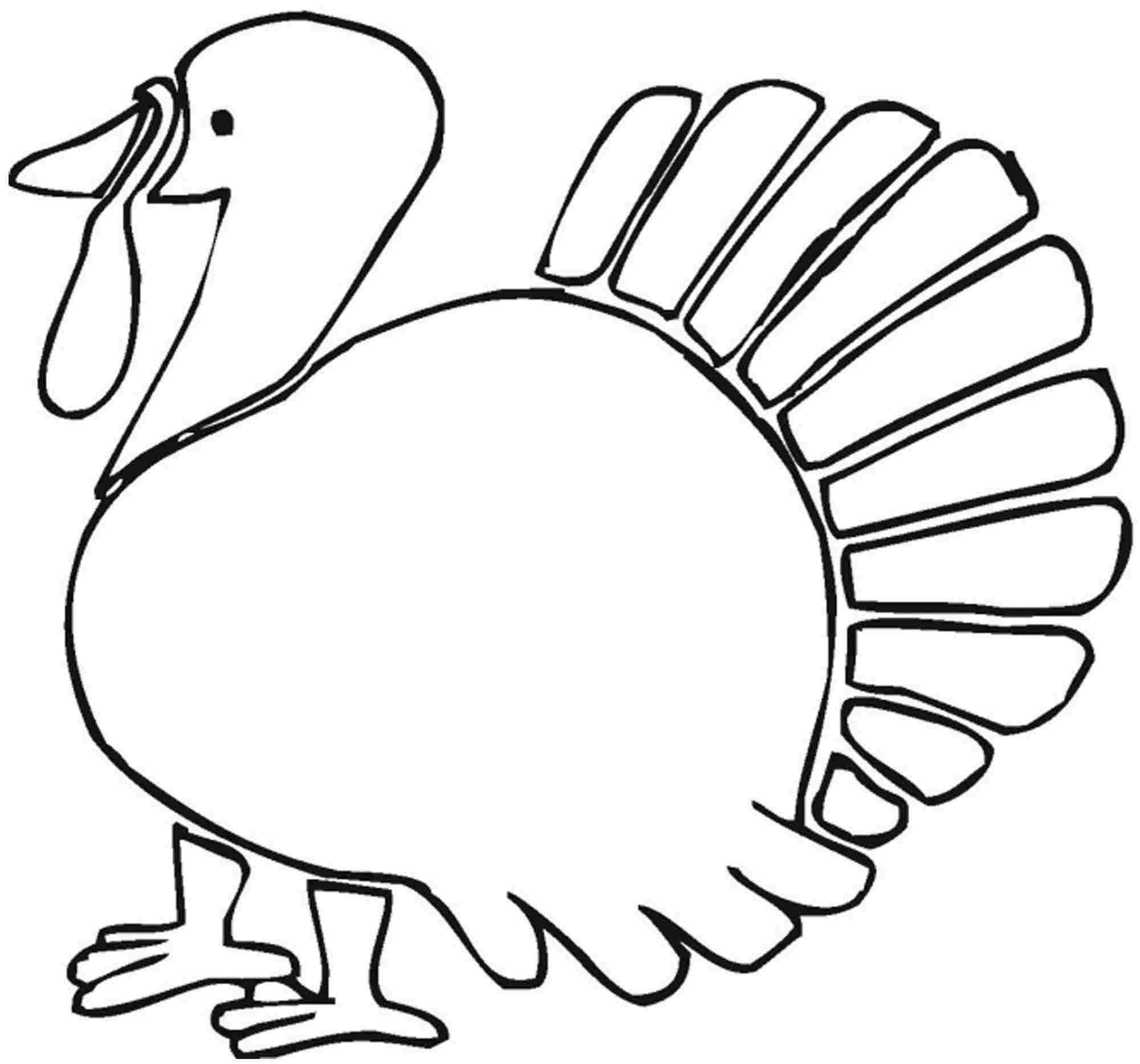 Coloring Page Turkey Thanksgiving Color Page Turkey Coloring ...
