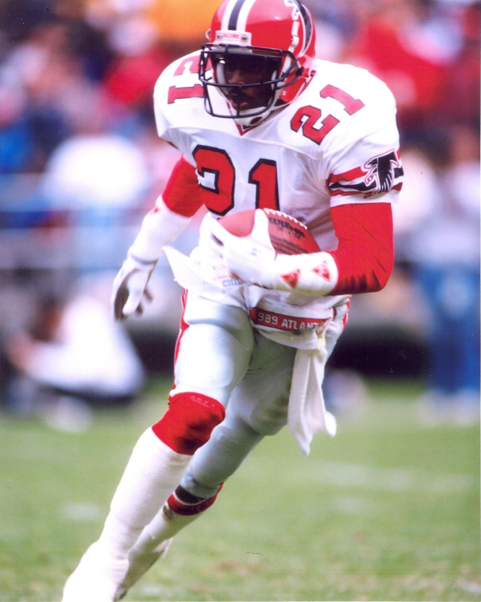 Deion Prime Time Sanders Atlanta Falcons Cb Atlanta Falcons Football Falcons Football Atlanta Falcons