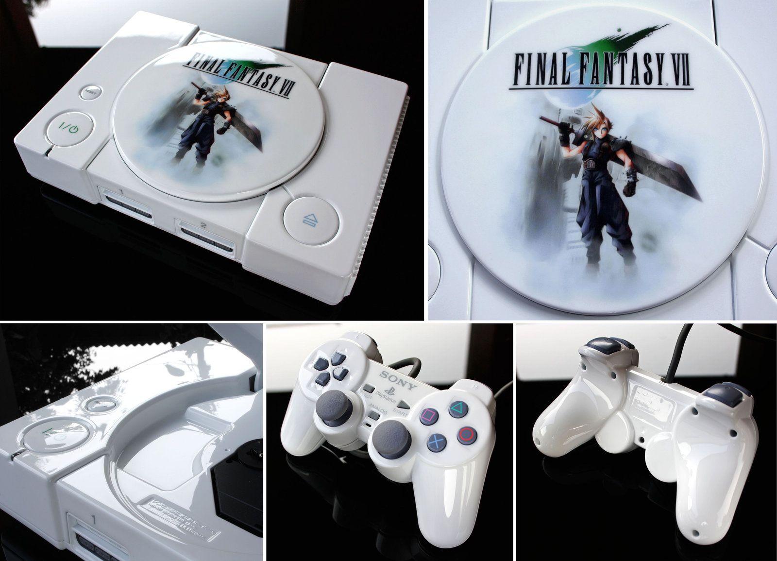 Custom Final Fantasy Vii Ps1 Sony Playstation By Zoki64