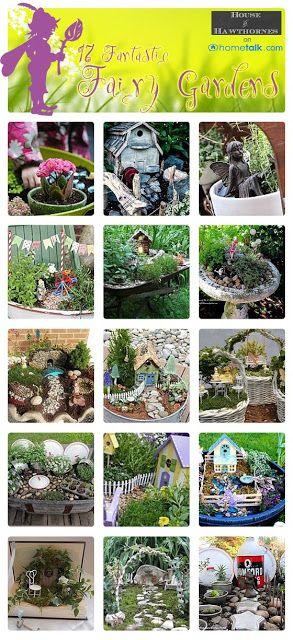 20 Whimsical DIY Miniature Fairy Garden Ideas | Pinterest | Fairy ...