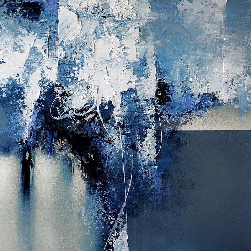 Colorful Painting Series Santa Fe Large abstract contemporaryTexas ...