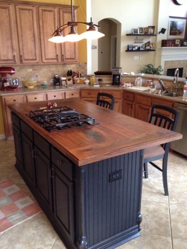 Great Simple Kitchen Island Houston