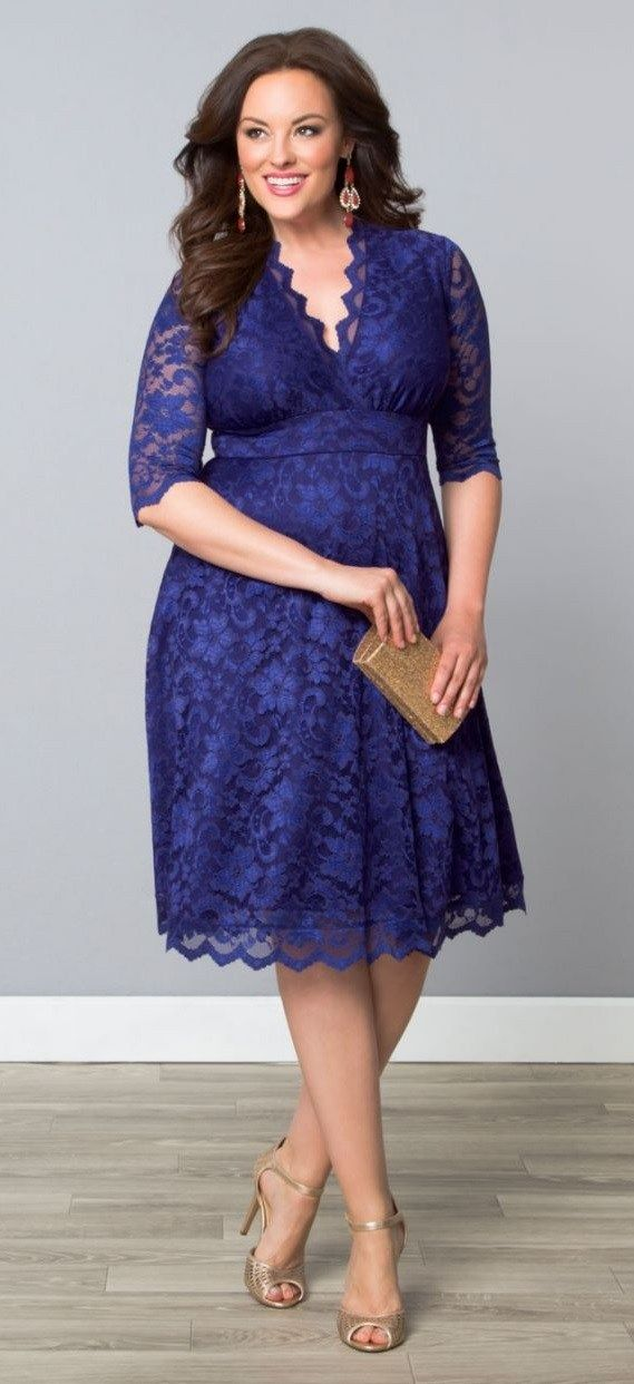 36 Plus Size Wedding Guest Dresses {with Sleeves | Pinterest ...