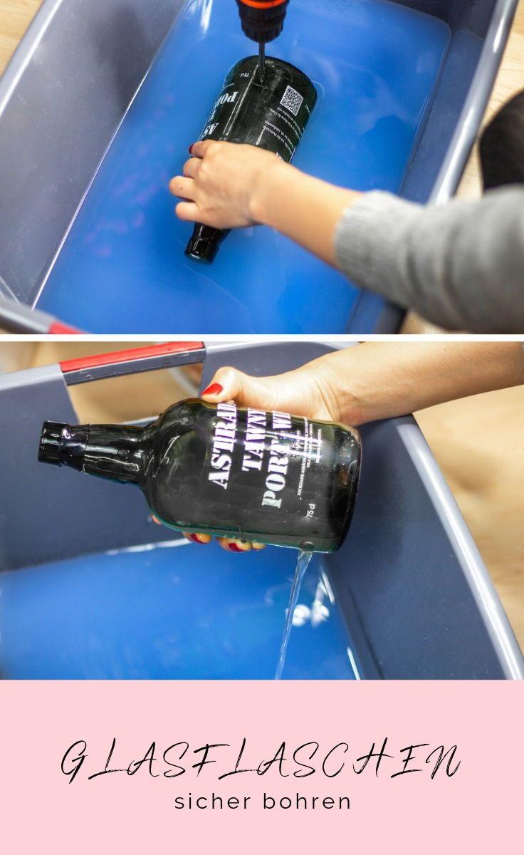 Photo of So geht das! Lampe aus alten Flaschen ganz einfach selber machen