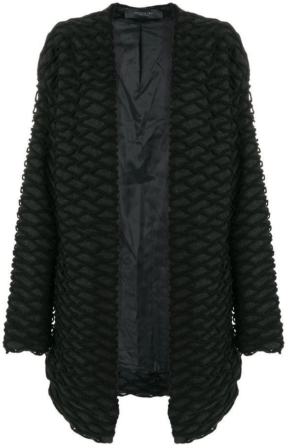 Federica Tosi embroidered detail cardigan