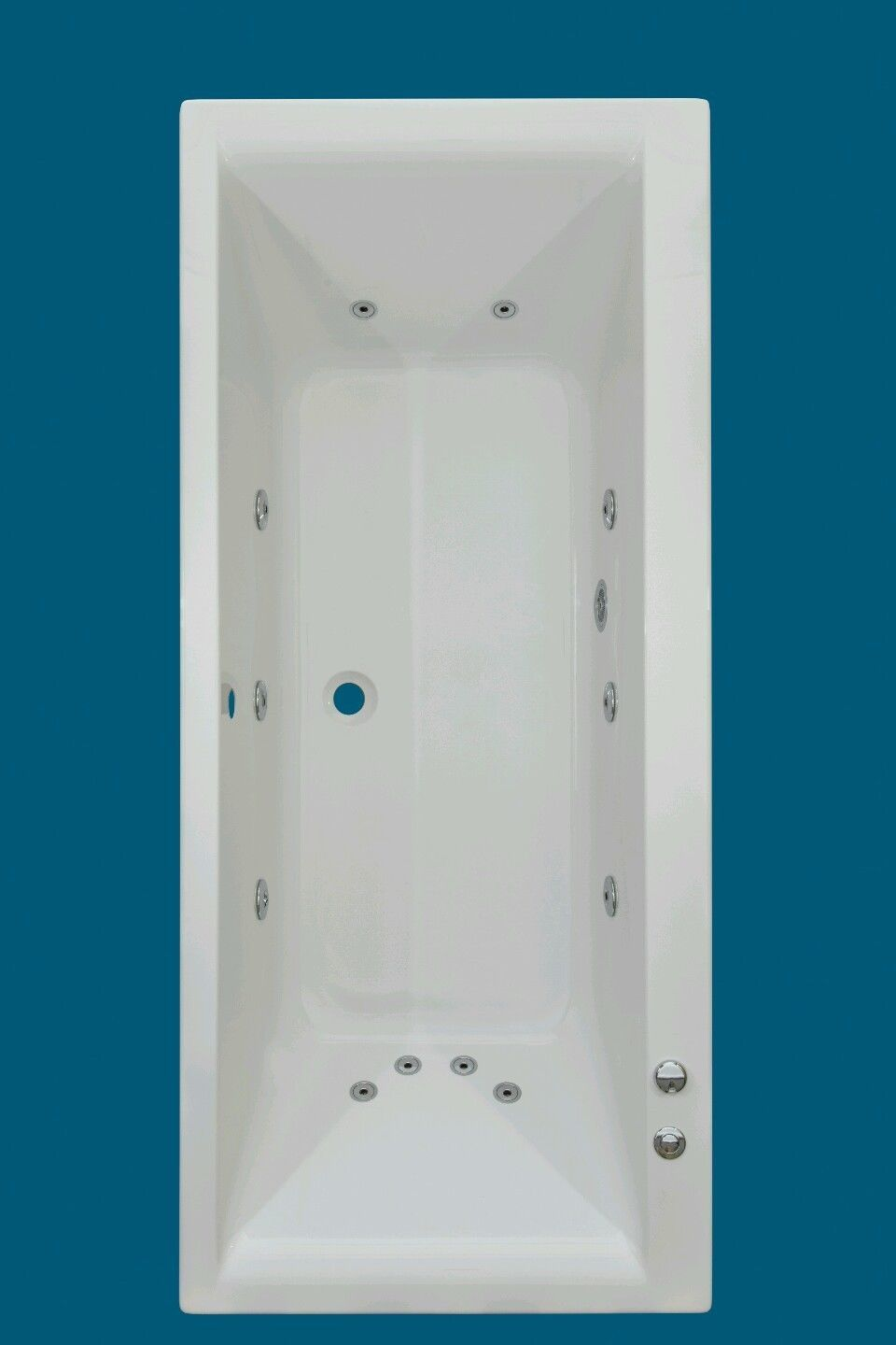12 JET TROJAN ELITE | 1800 X 800mm DOUBLE ENDED WHIRLPOOL |SPA ...