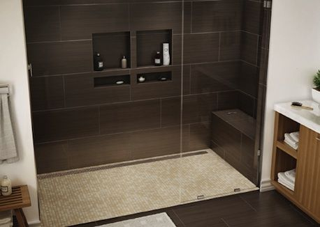 A New Line Of Tile Redi Shower Bases Now Available From American