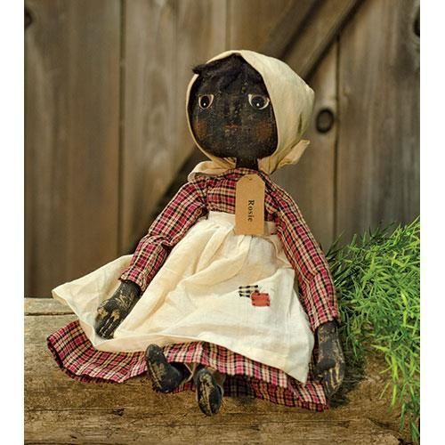 PRIMITIVE DECOR~ Rosie Doll ~ COUNTRY ~ FARMHOUSE #AmericanaPRIMITIVE