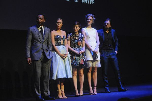 "Sebastian Stan Photos - (L-R)  Chiwetel Ejiodor Kristen Wiig, Kate Mara, Mackenzie Davis and Sebastian Stan onstage during the 53rd New York Film Festival - ""The Martian"" Premiere  at Alice Tully Hall on September 27, 2015 in New York City. - 53rd New York Film Festival - 'The Martian' Premiere - Red Carpet"