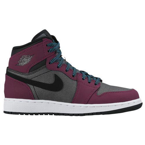 Jordan Aj 1 High Girls Grade School At Foot Locker Girls Basketball Shoes High Top Basketball Shoes Kids Shoes