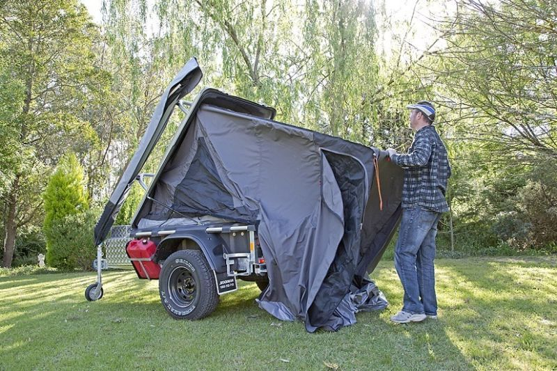 STOCKMAN PRODUCTS KWIK KAMPA 2 Camper Trailers Gumtree