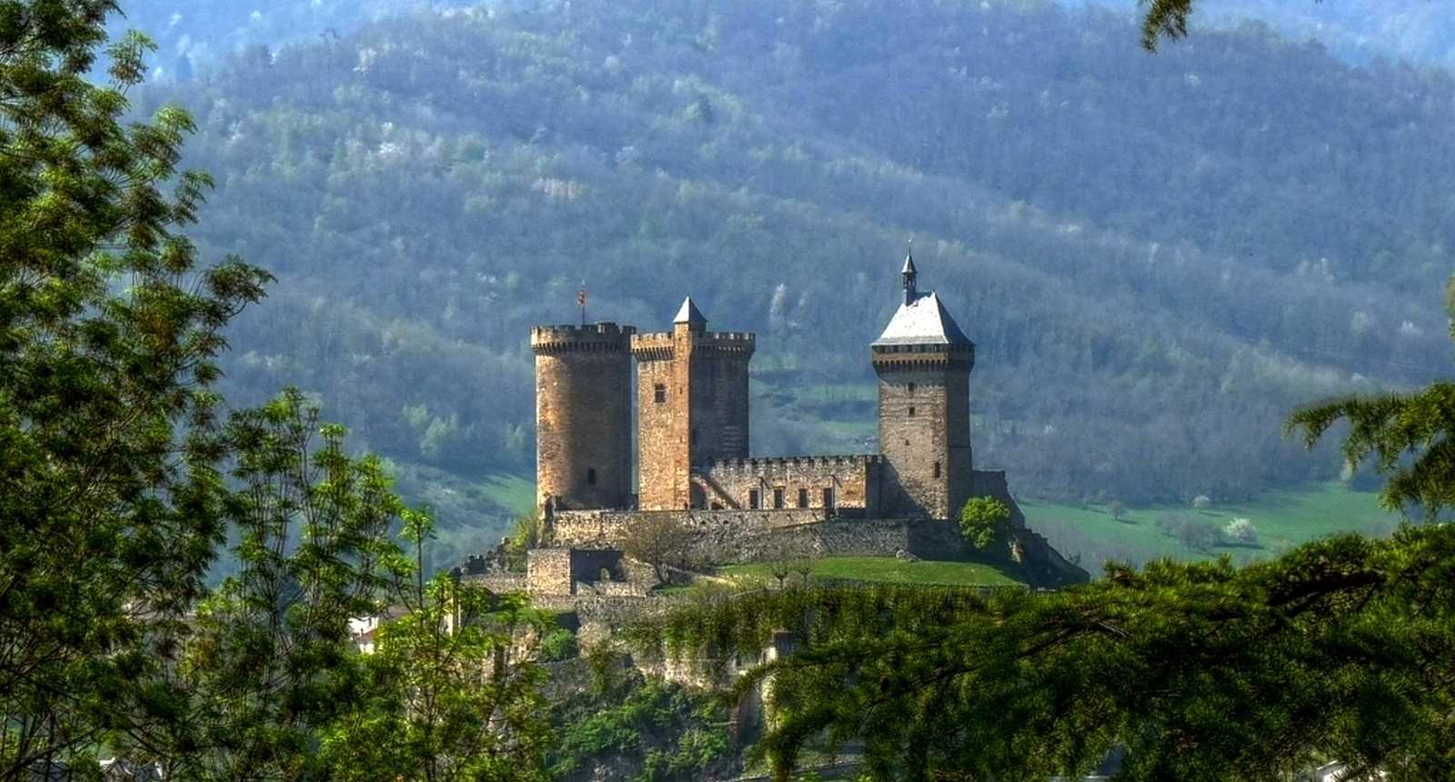 Château de Foix, Ariège (09) France