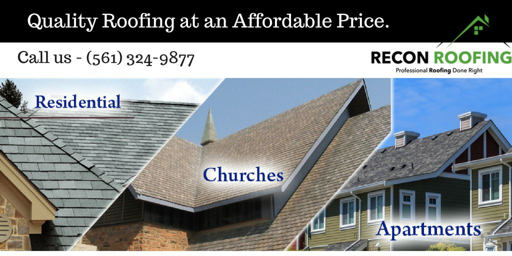 Jupiter Roof Repairs Recon Roofing Inc 561 324 9877 Roofing Roof Repair Best Roofing Company