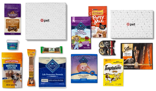 New Target Pet Boxes for Dogs and Cats Pets, Dog food