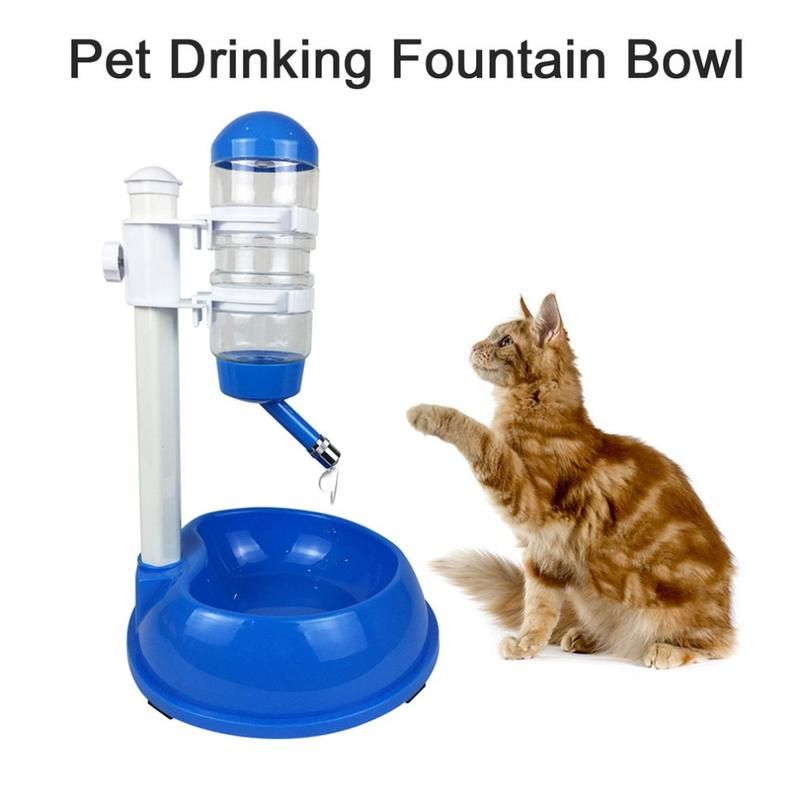 Cat Automatic Water Dispenser Stand Cat Water Fountain Pet
