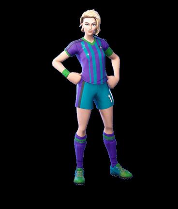 Finesse Finisher Fortnite Skin Blonde Soccer Girl Jogadora De Futebol Jogadora Futebol Feminino