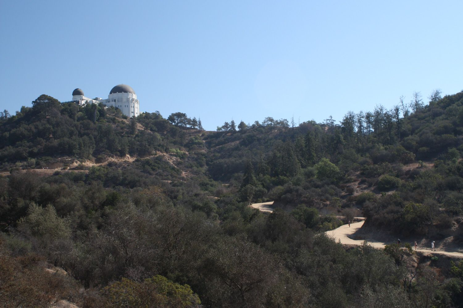 One Of The Most Popular Trails To One Of The Most Popular Attractions In Griffith Park The West Observatory Trail Griffith Park Hike Griffith Park Best Hikes