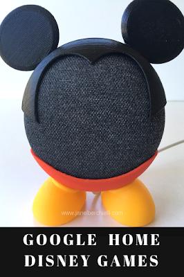 Google Home Disney Games Janel Berchielli Blog