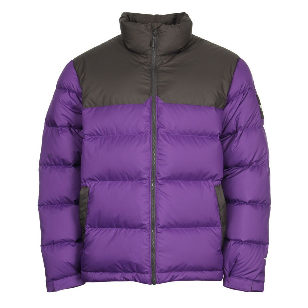 New Mens North Face 1992 Nupste Jacket Purple Black North Face Mens North Face Nuptse Jacket Purple And Black [ 1000 x 1000 Pixel ]