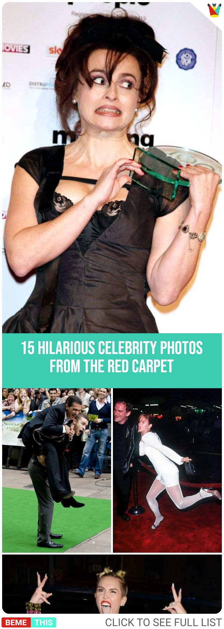 Red Carpet Stumbles: 15 Celebs Have Hilarious Embarrassing ...