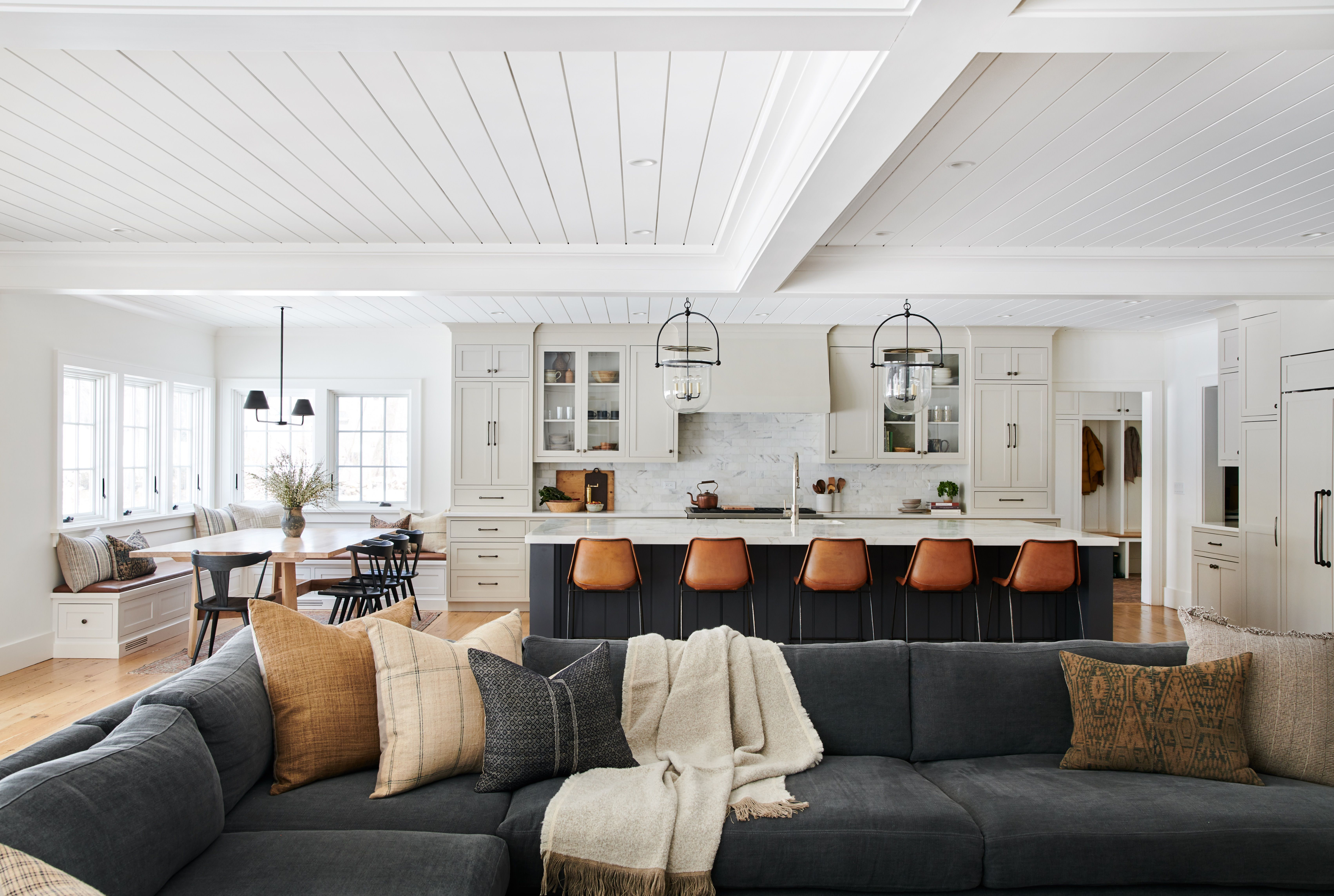 Home living room, House interior, Home, House styles, Interior design, Interior - Client Tupac Meets Biggie To Decorate The Diggies  A Connecticut home designed by Amber Lewis, founder and principal d -  #Homeliving #room