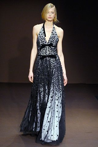 Andrew Gn Fall 2006 Ready-to-Wear Fashion Show - Milana Keller (Women)