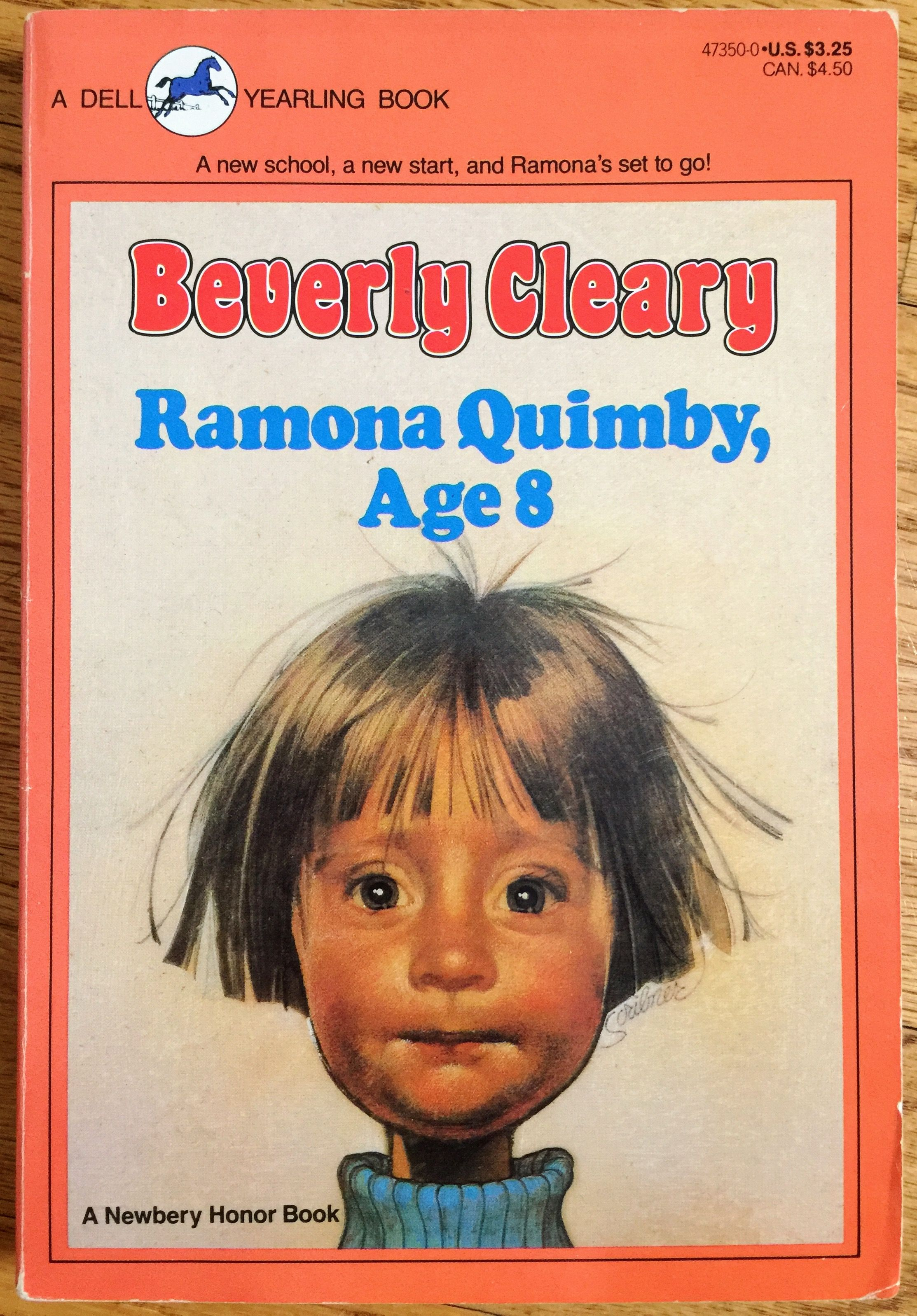 Vintage 1980s Childrens Chapter Book Beverly Cleary Paperback