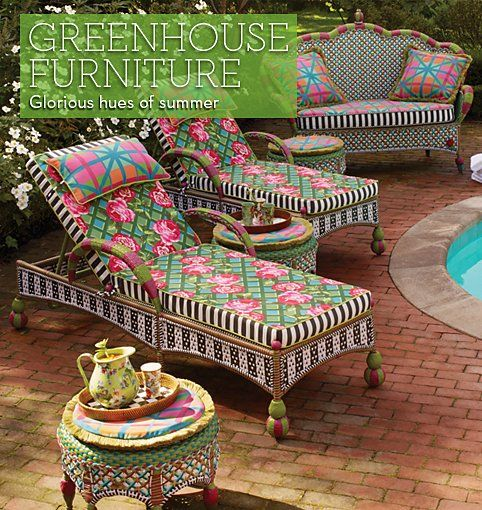 MacKenzie-Childs - Greenhouse Outdoor Collection