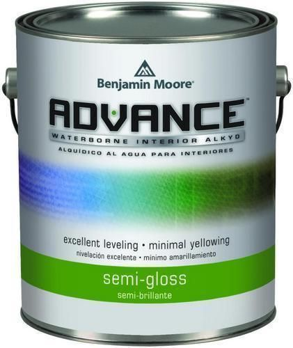 Benjamin moore 793 advance waterborne alkyd interior semi - Advance waterborne interior alkyd paint ...