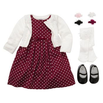 Polka Dot Holiday Cutie - Christmas outfit for this year? - Polka Dot Holiday Cutie - Christmas Outfit For This Year? Our