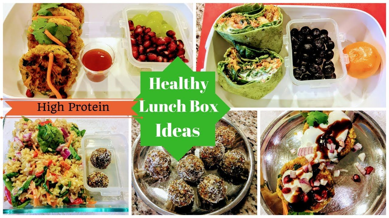 indian healthy lunch box ideas (part2)ll high protein lunch box